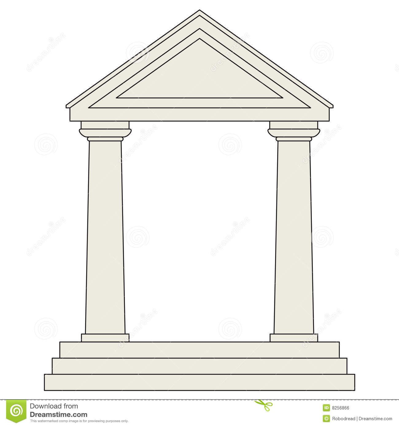 Greek Temples Clipart