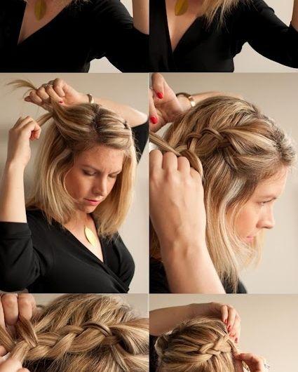 Comment faire une coiffure facile cheveux mi-longs? (avec images) | Coiffure, Coupe coiffure ...