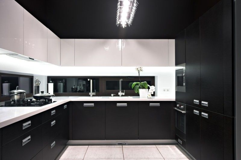 Modern White And Black Kitchen 43 luxury modern kitchen designs that you will love | black