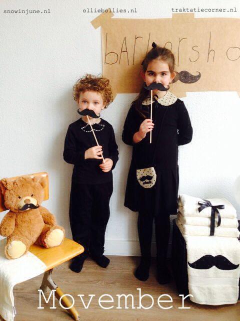 Movember met producten van Olliebollies.nl, Snowinjune.nl en Traktatiecorner.nl