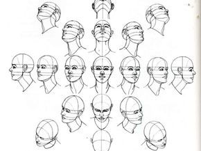 Angulos De La Cabeza Desenhando Cabecas Desenho De Pessoas Desenhando Retratos
