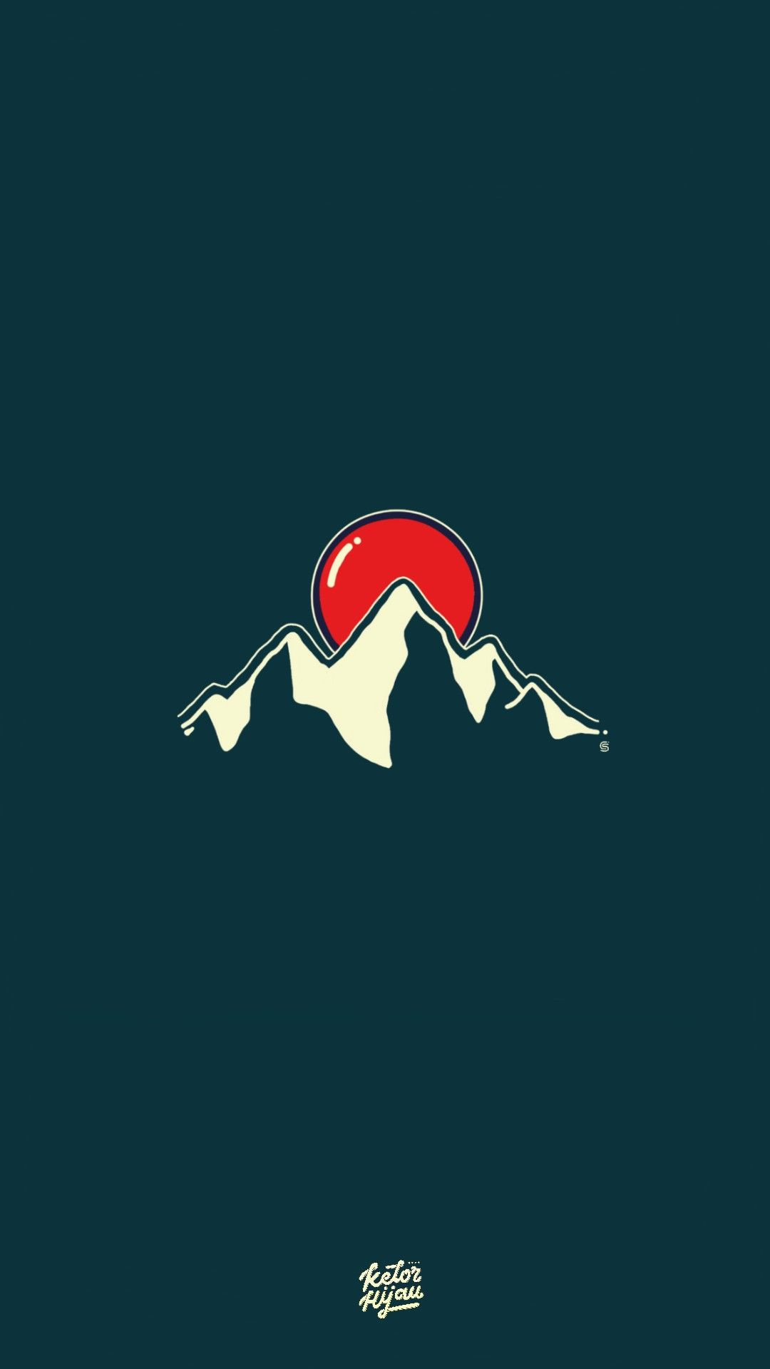 Lollipop Behind The Mountain 🍭 Kelorhijaustudio