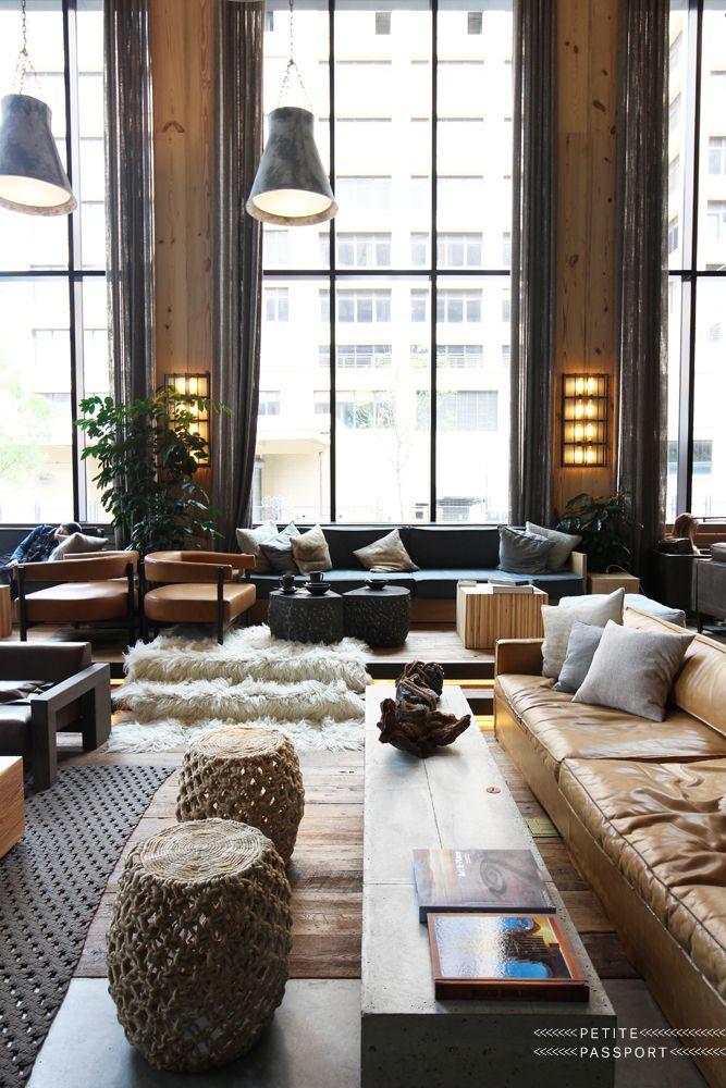 1 Hotels Brooklyn Bridge Interior Design Inspiration Board Loft