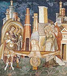 Crucifixión de San Pedro del Sancta Sanctorum del Palazzo Apostolico Lateranense.