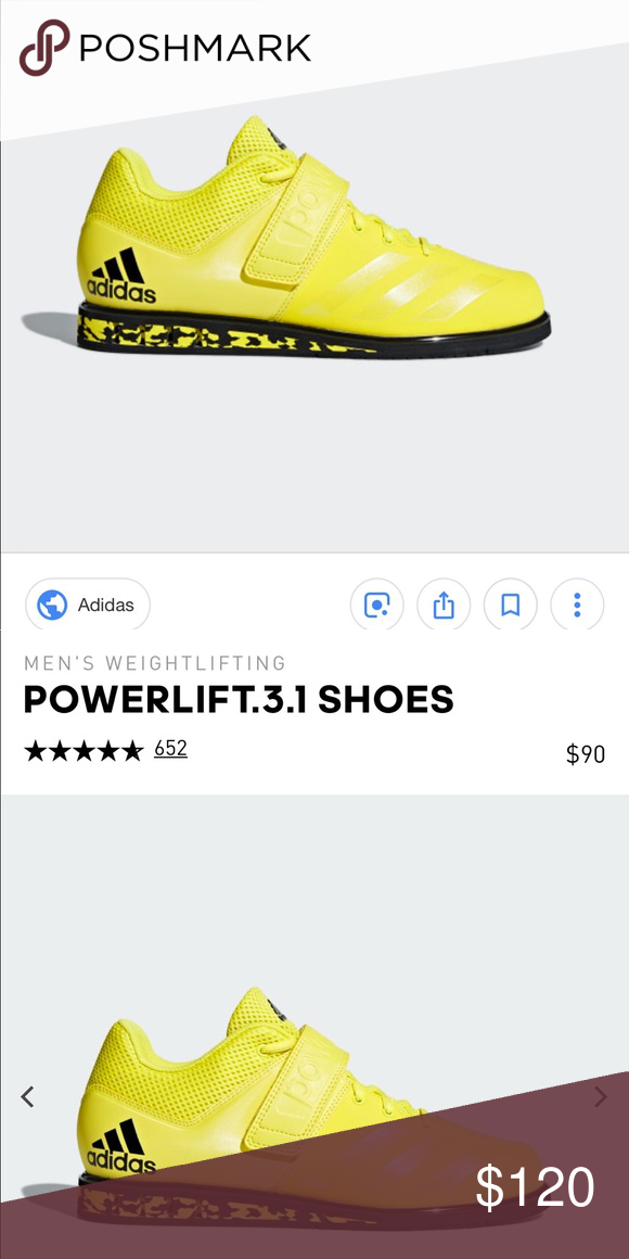 ADIDAS Powerlift 3.1 These shoes are the perfect shoes for