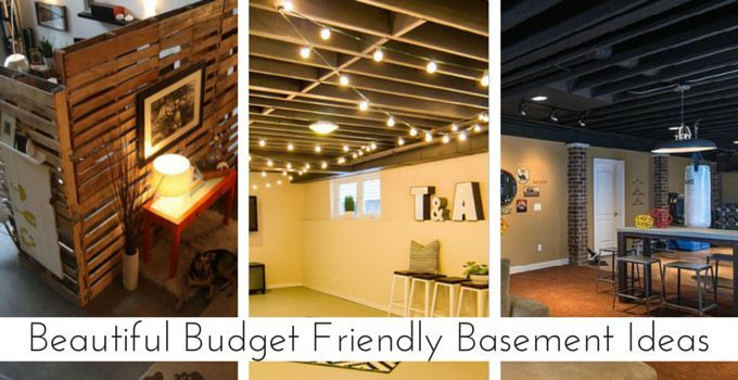 Unfinished Basement Ideas For Making the Space Look and Feel Good ...