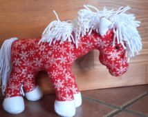 Holiday Stuffed Horse