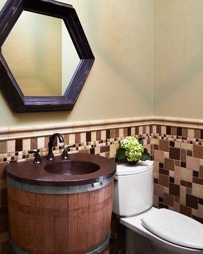 Pin By Native Trails On Native Trails In The Bath Bathroom Design Reclaimed Wood Bathroom Vanity Wall Mounted Vanity