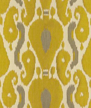 Kravet 3717.311 Ornamental Ikat Quince Fabric - $231 | onlinefabricstore.net