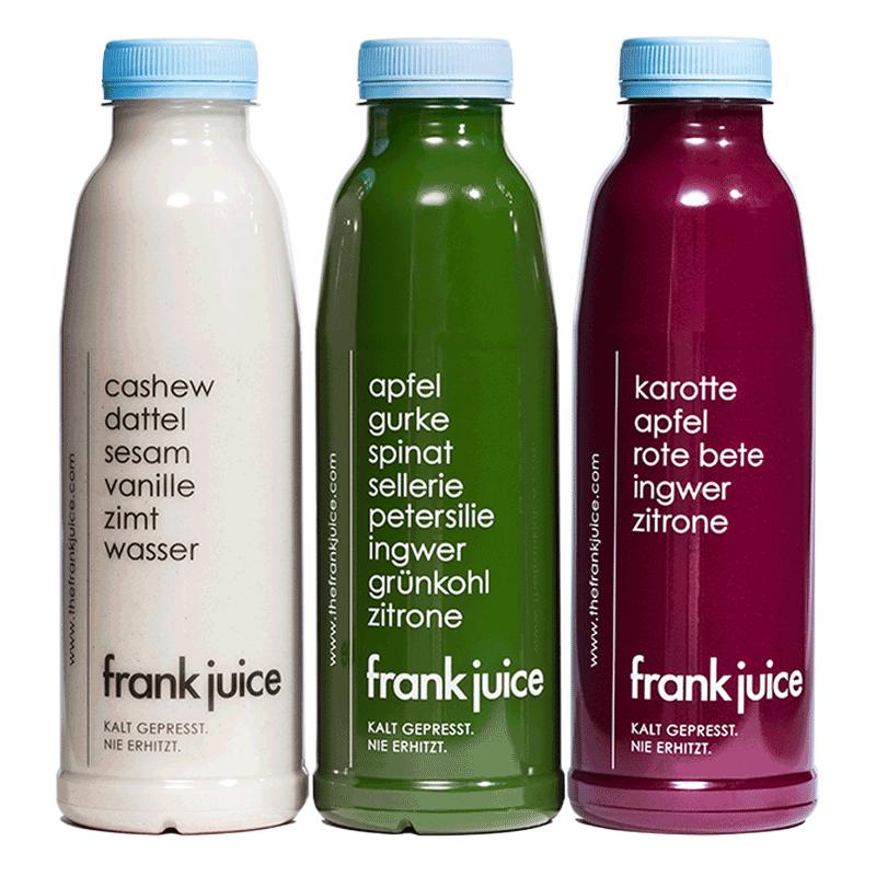 Cleanse Saftkur Detox The Frank Juice Ehrlich Gut Saftkur Entsafter Entsaften