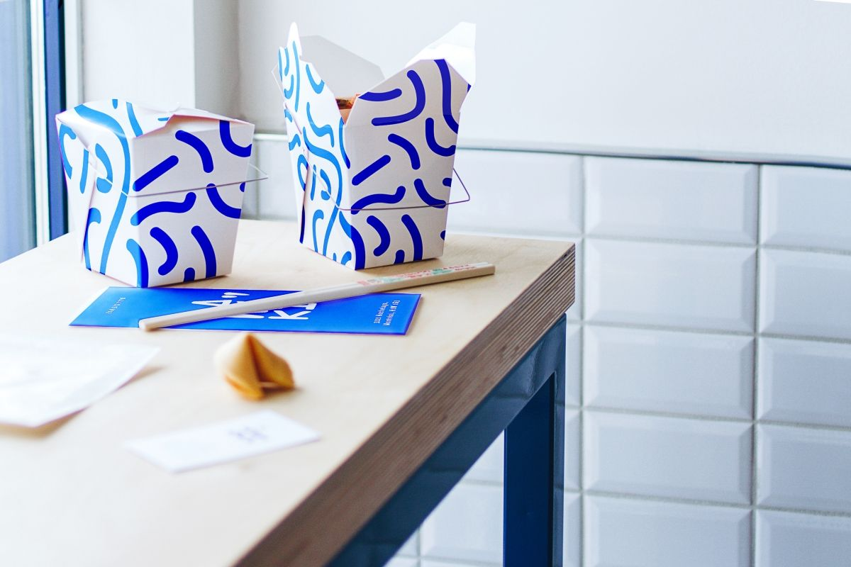 Studio Beau And Rainville Sangar Serve Up Funky Identity For