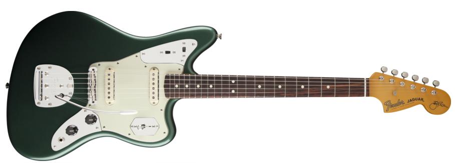 Limited Edition Johnny Marr Signature Sherwood Green Jaguar Cool Guitar Fender Jaguar Johnny Marr