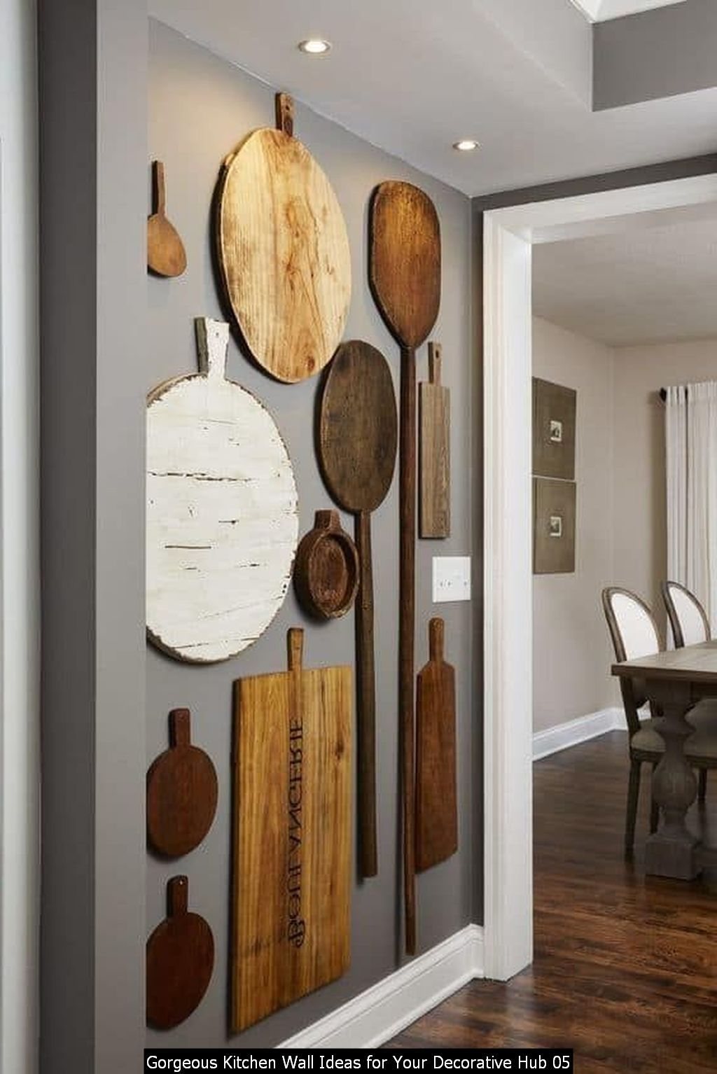 20 Gorgeous Kitchen Wall Ideas For Your Decorative Hub Decor Art Rustic