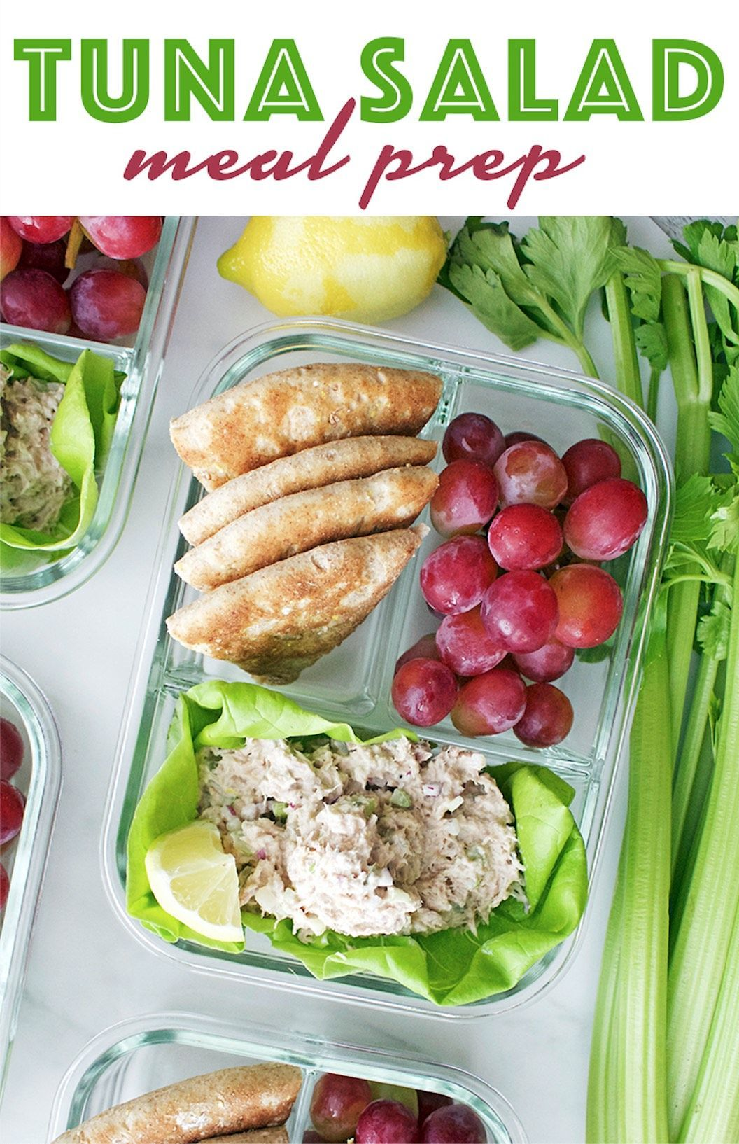 Tuna Salad Meal Prep  Peanut Butter and Fitness Tuna Salad Meal Prep  Peanut Butter and Fitness Laur...