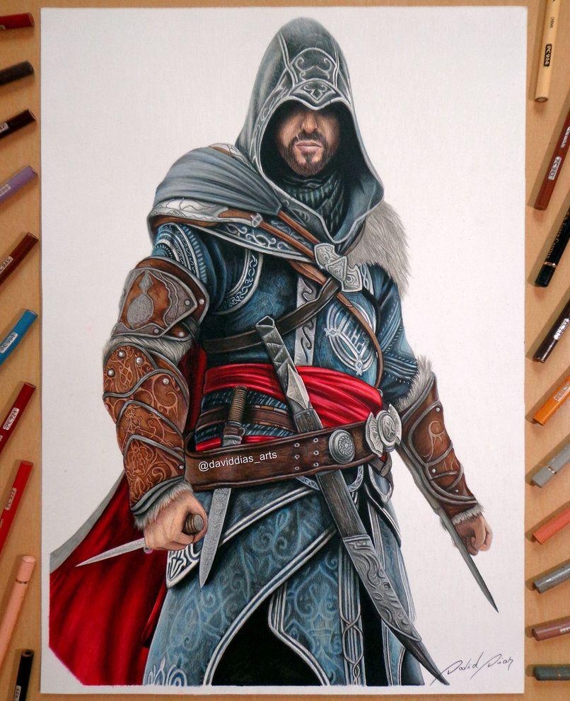 Ezio Auditore Assassin S Creed Revelations By Daviddiaspr