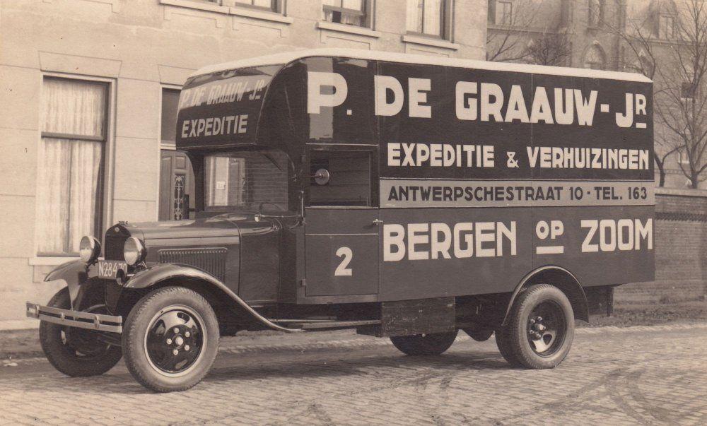 ford vrachtwagen P de Graauw Bergen op Zoom  1931  - Google zoeken