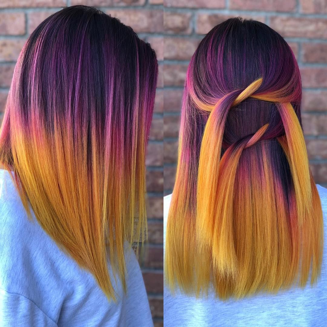 Pin by aisha elizabeth on hair pinterest sunset hair hair