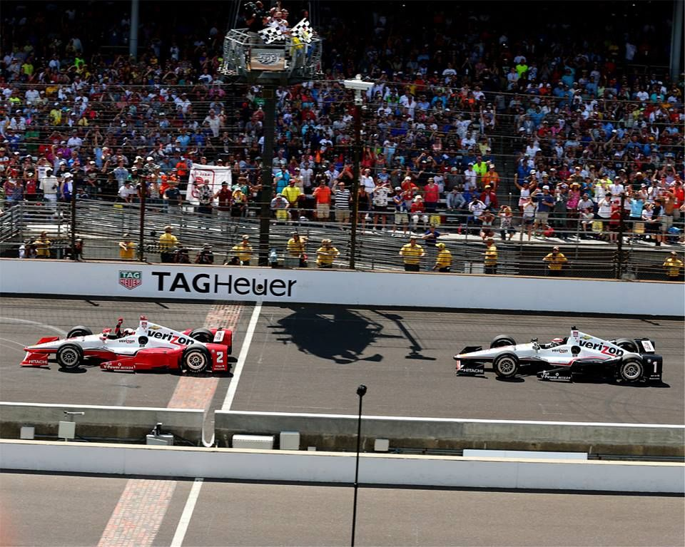 What a day for Team Penske! It was a 1-2 finish at the Indianapolis 500 with Juan Montoya taking the win over Will Power after a hard fought battle. Like or comment to leave your congrats to Juan!