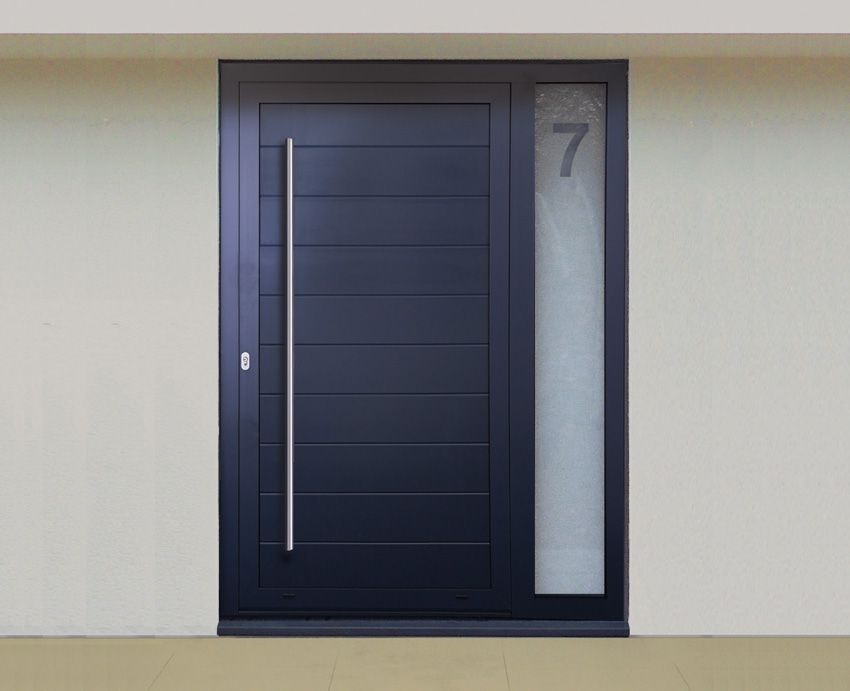 Ali funkyfront images aluminium funkyfront for Front door design uk