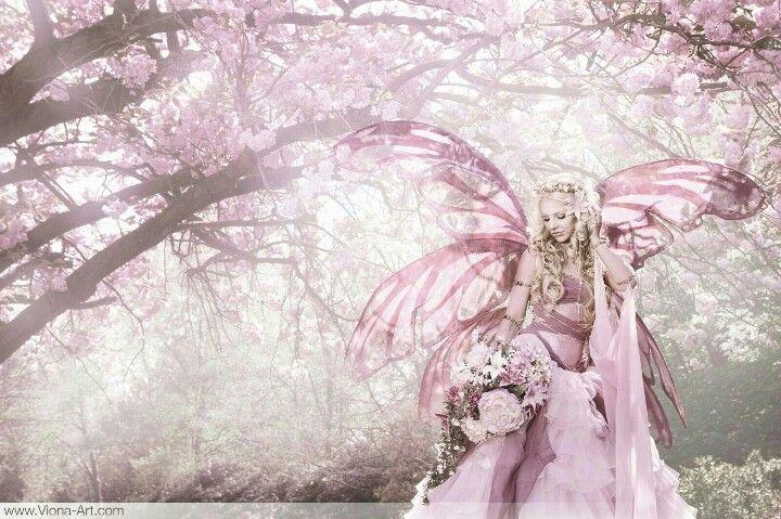 Cherry Blossom Fairy Fairytale Photography Fairy Pictures Fairy Art