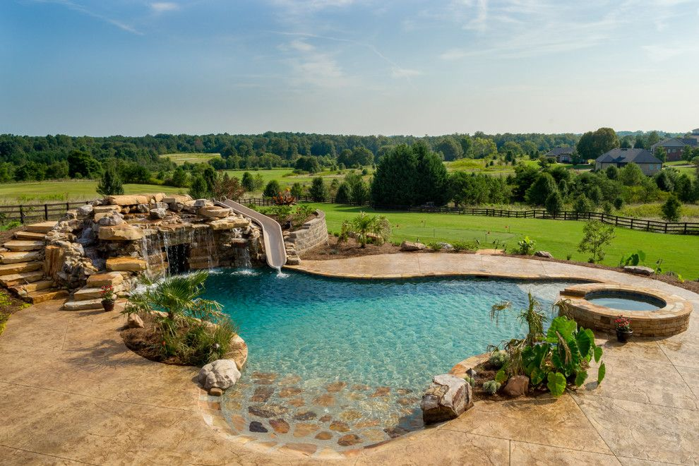 Inground Pool Designs Ideas grande small fiberglass n swimming ideas also inground s pools Pool Shapes Rustic Kitchens And Google Search On Pinterest