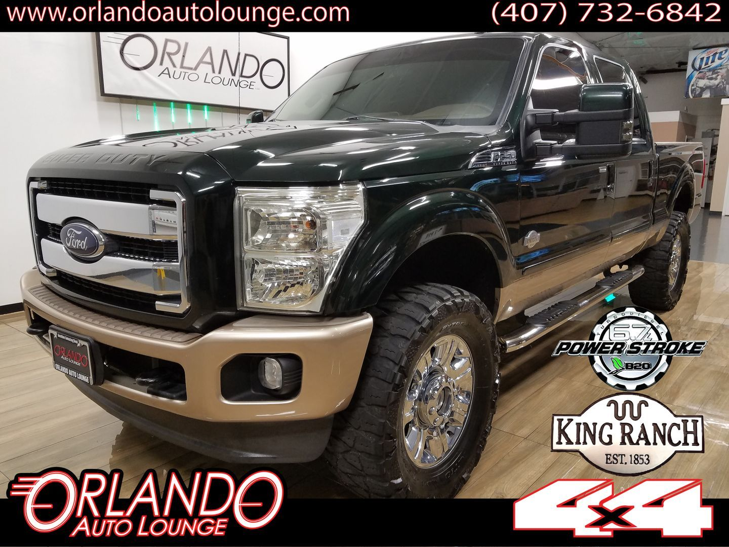 Ford Dealership Orlando >> 2013 Ford F250 Super Duty Crew Cab King Ranch Pickup 4d 6 3