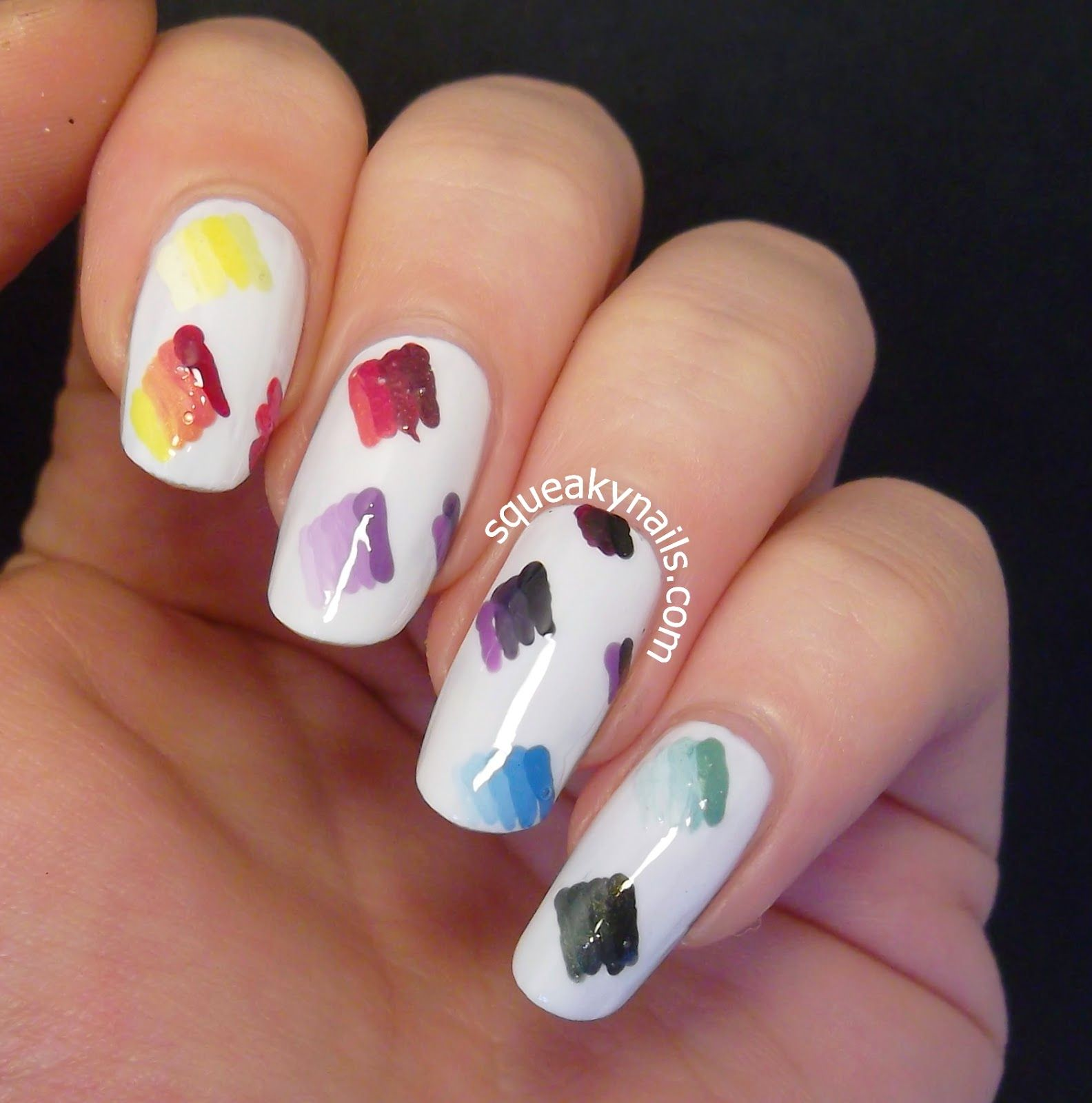 Squeaky Nails: OMD Challenge Day 30 - Fashion Inspired http://www ...