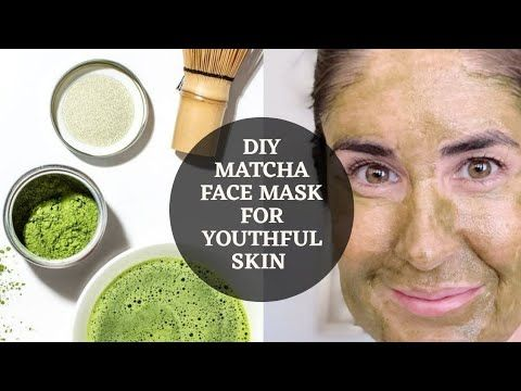 Photo of Matcha green tea face mask for youthful skin / How to look younger?