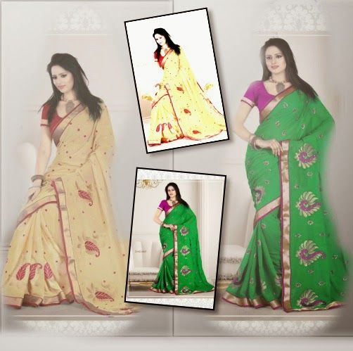 ONLINE SHOPPING STORE: LOOK GRACEFUL WITH SAREES