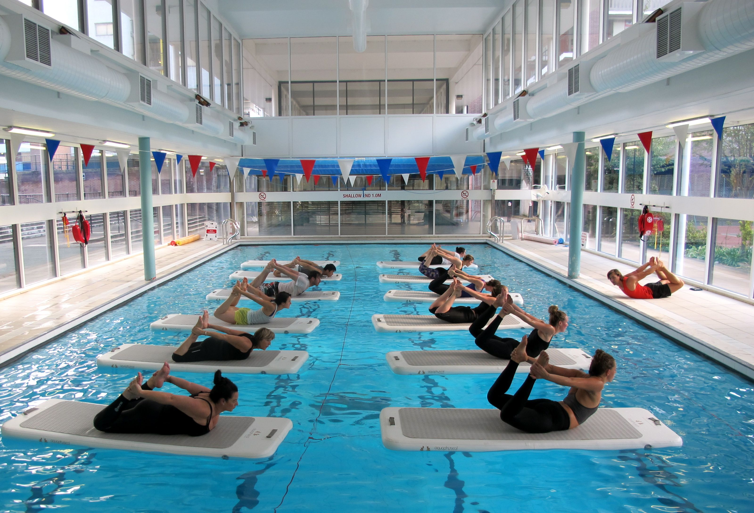 Aquaphysical London HIIT Class on Water! Aqua fitness