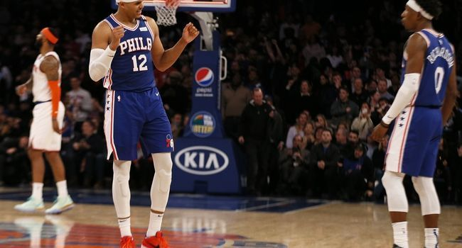 Philadelphia 76ers Vs New York Knicks 2 27 20 Nba Pick Odds And Prediction Nba Nbapick Freepicks Sportsbett In 2020 New York Knicks Philadelphia 76ers Knicks