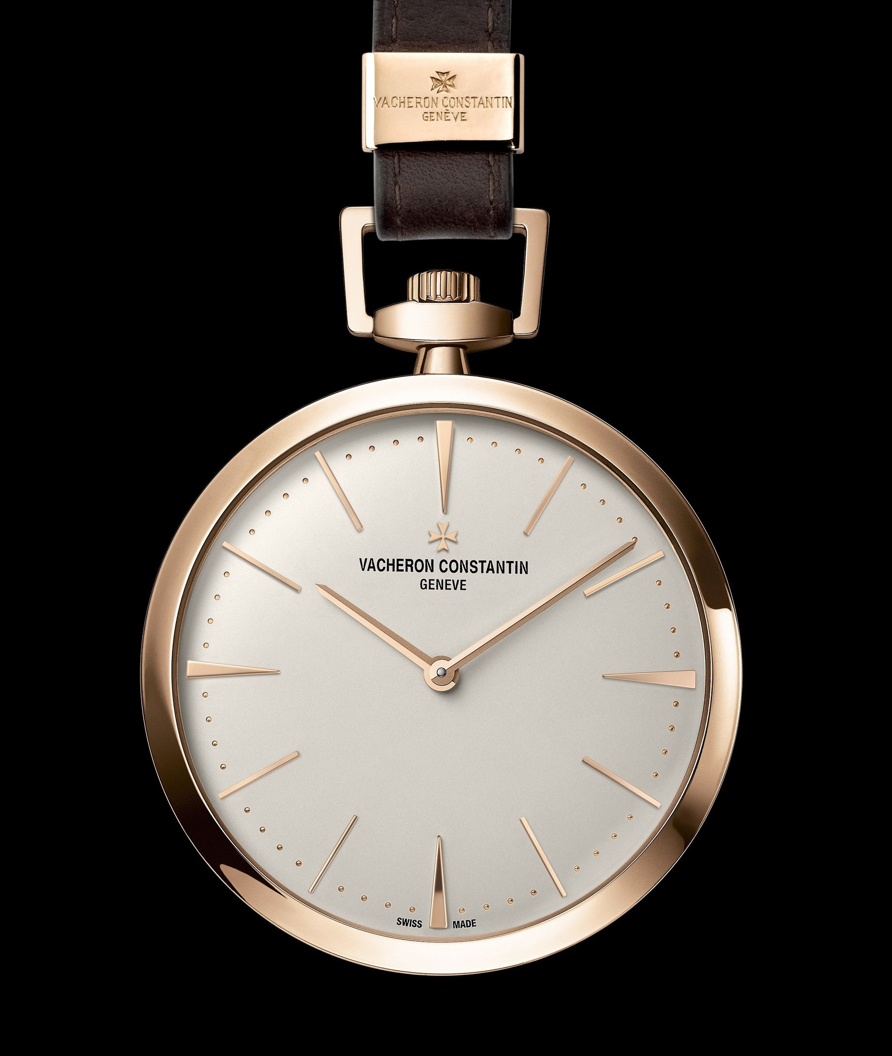 Patrimony contemporaine de Bolso relógio por Vacheron Constantin