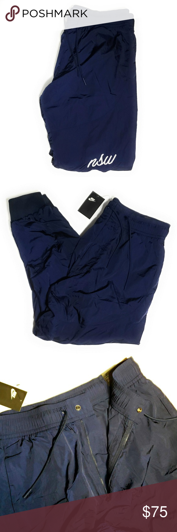 Nike Sportswear Woven Jogger Pants Blue AH4844 451 Men/'s Size Large