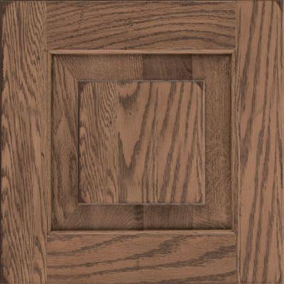 Best Kraftmaid 15X15 In Cabinet Door Sample In Dillon Oak In 400 x 300