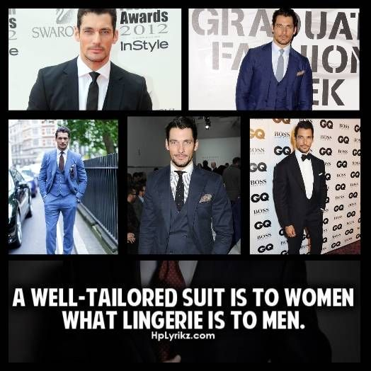 This man can wear a suit!!