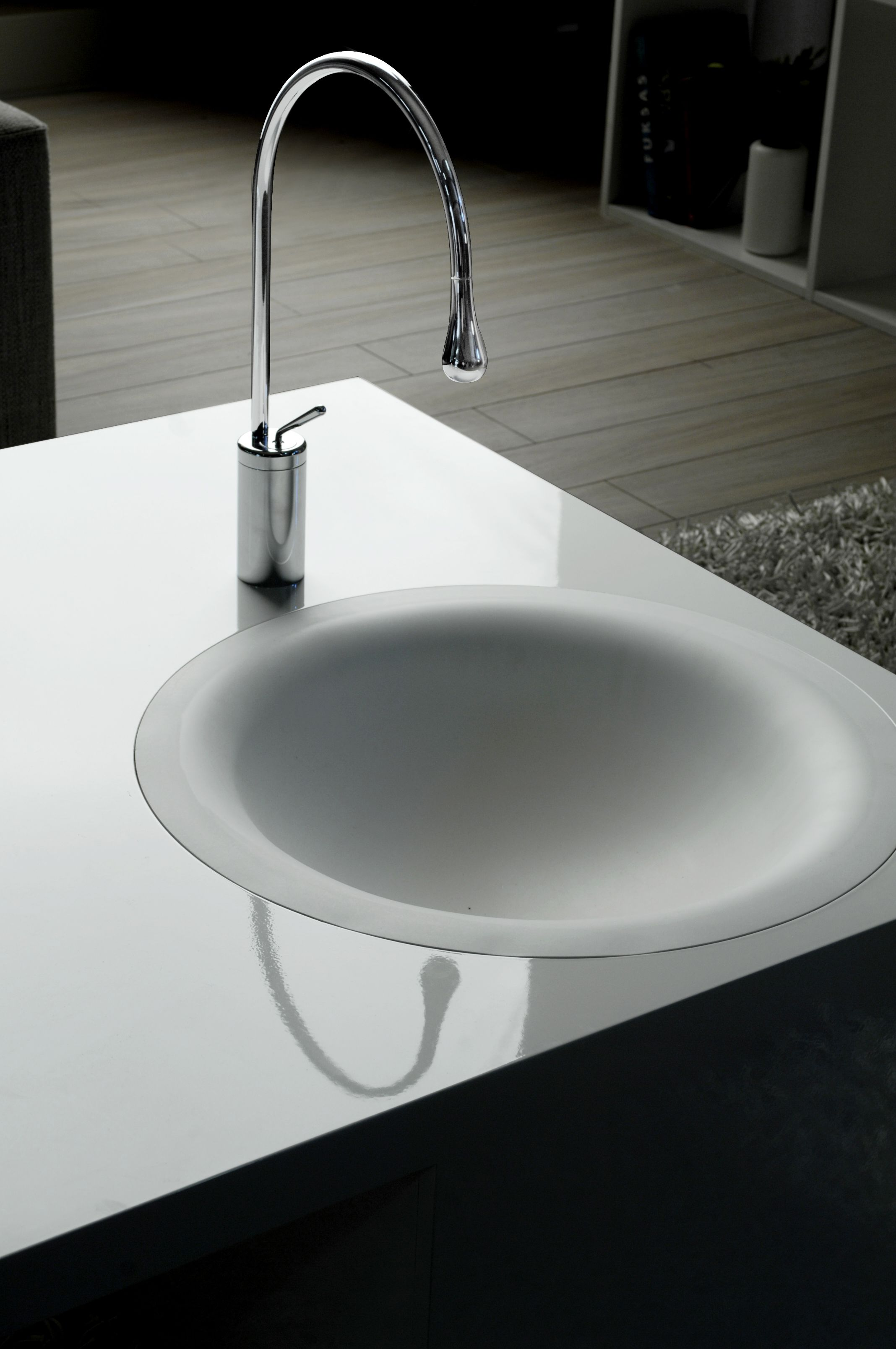 Imagine A Permeable Bowl With No Visible Drain Rather The Water Soaks Through The Surface Bathroom Design Design Basin