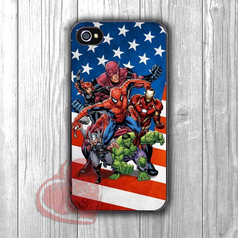 Marvel Superheroes - zzA for iPhone 6S case, iPhone 5s case, iPhone 6 case, iPhone 4S, Samsung S6 Edge