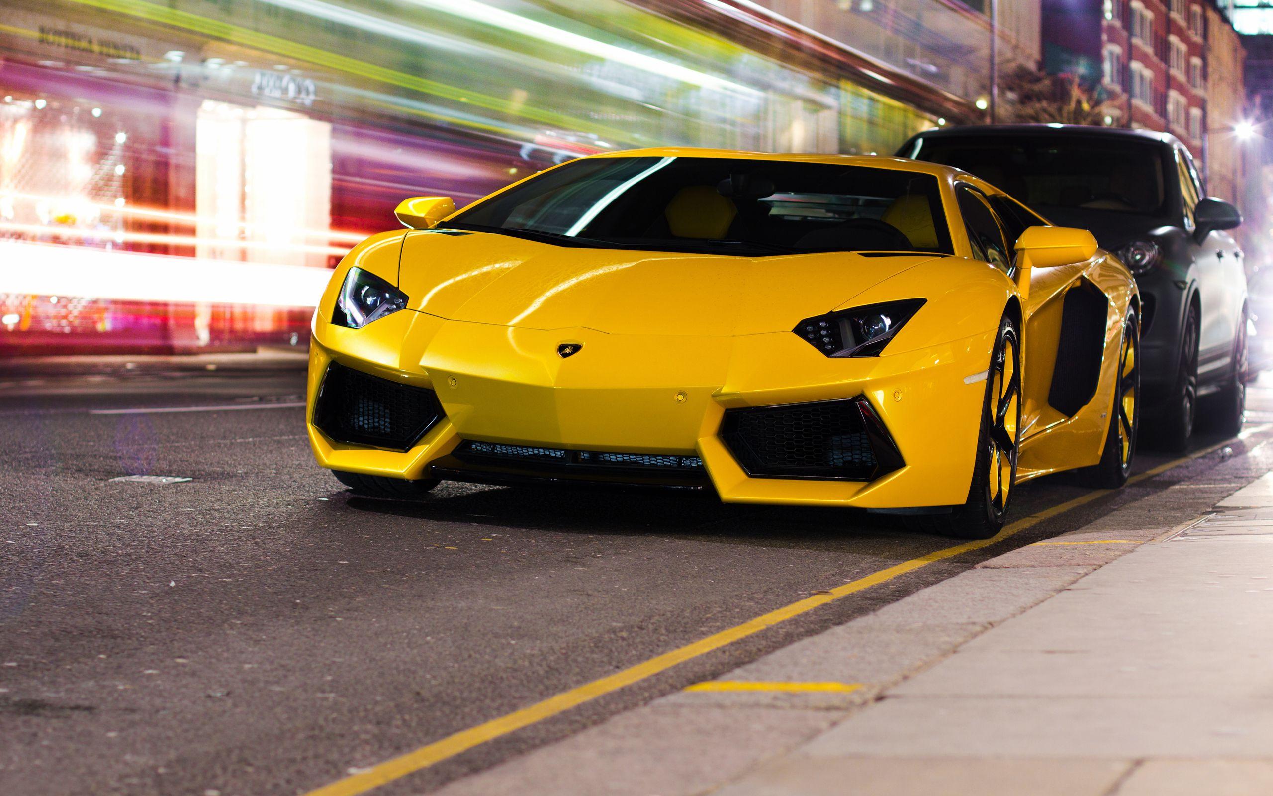 Lamborghini Aventador Yellow Lamborghini Reventon Lamborghini Lamborghini Aventador Lp700 4