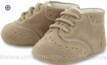 Suede Booties - MAYORAL 9640 - Little Cherubs Clothing
