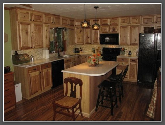 Related to lowes hickory kitchen cabinets | kitchen | Pinterest ...