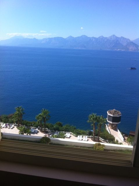 From a Hotel window, Antalya - TURKEY