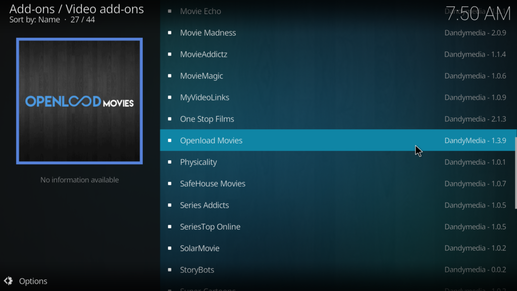 How To Install Openload Movies Add-on On Kodi 17 Krypton
