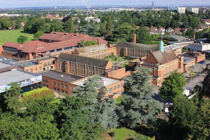 Whitgift Boys School in South Croydon Surrey England