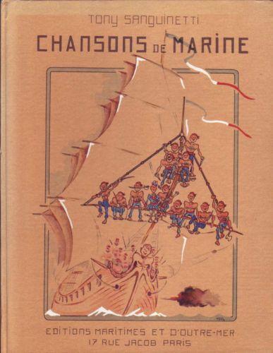 Chansons De Marine par Sanguinetti Tony