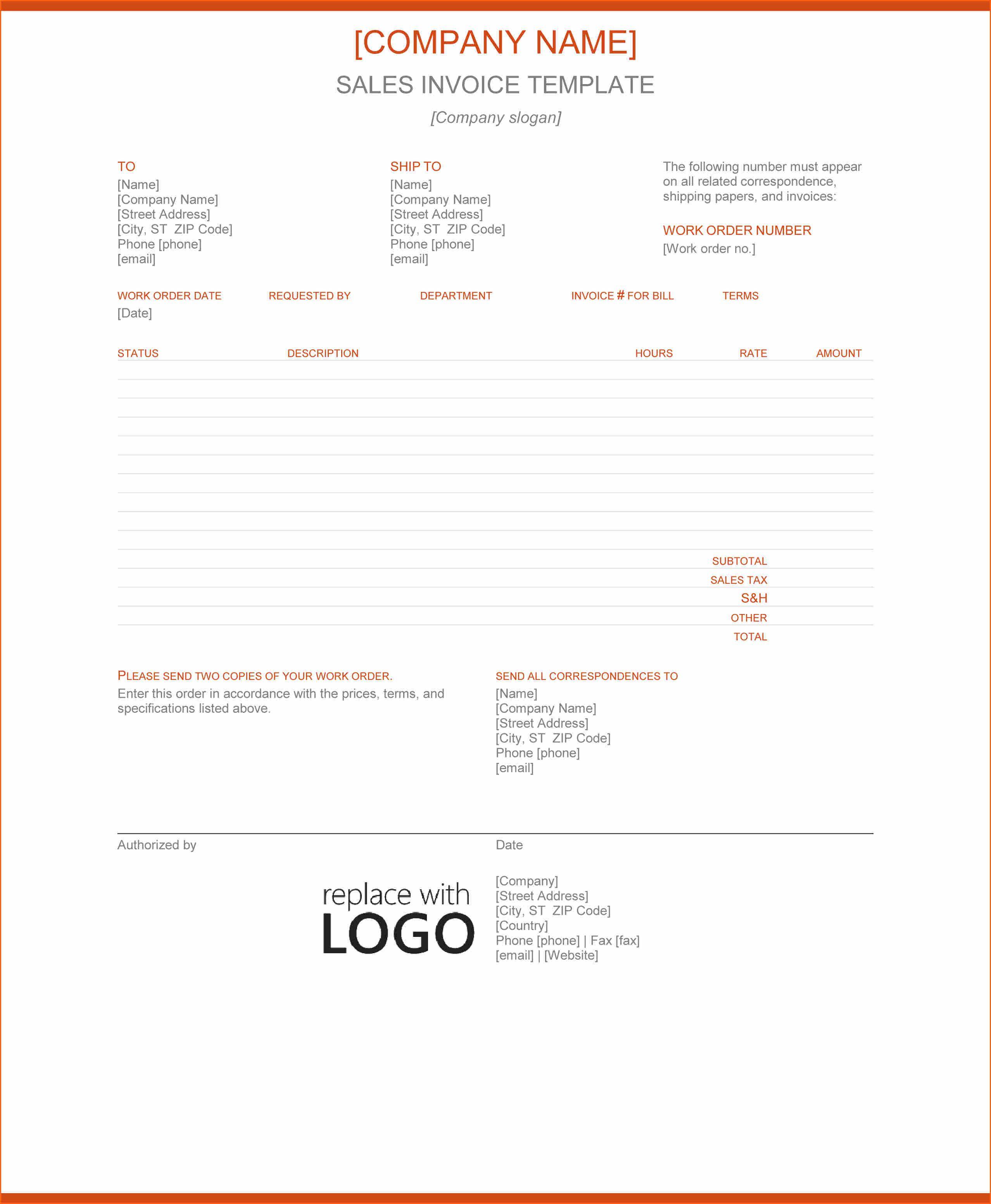 Google Docs Templates Resume Sales Invoice Template With Discount Percentage Column Google Docs