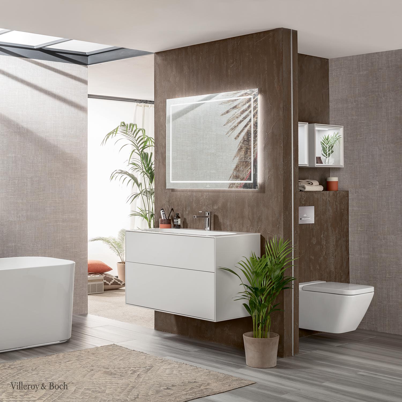 Go For Plants In Your Bathroom Villeroy Boch Badezimmereinrichtung Badezimmer Klein Badezimmer Innenausstattung