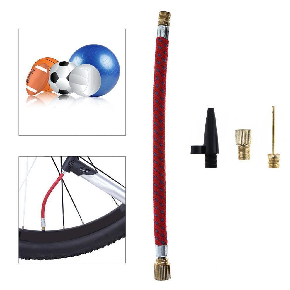 4pcs Portable Nozzle Valve Air Hose Inflating Needles Pump