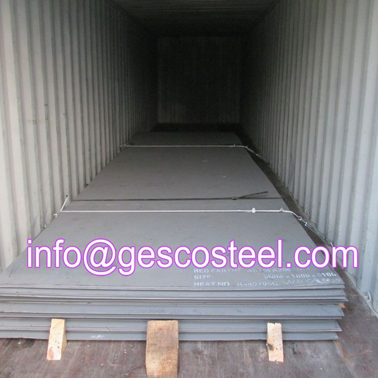 Hot Rolled Steel Plate Packing And Loading Steel Plate Steel Corten Steel