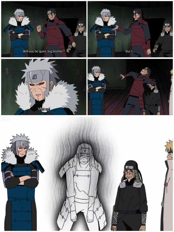 Hashirama senju is the founder of konoha. Are The First And Second Hokage Brothers - NATURUT