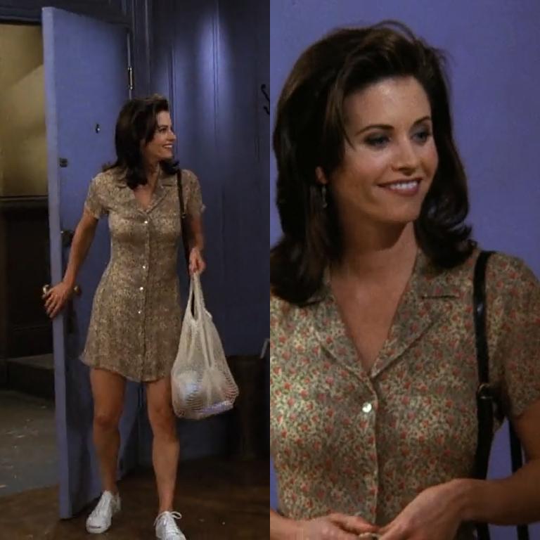 Monica Geller   Clothes   Moda, Vestidos, Moda años 90 d36d6c5acb